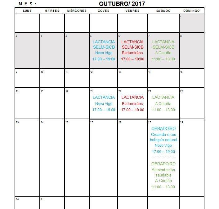 Axenda outubro 2017